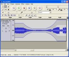 Audacity Aufnahmesoftware