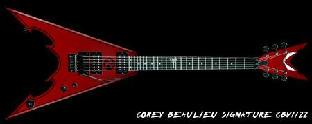 Corey Beaulieu's Signature-Gitarre