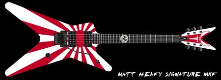 Matt Heafy's Signature-Gitarre