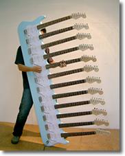 12-hälsige Fender Strat